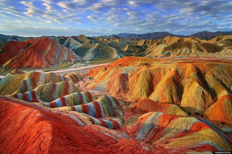 El Parque nacional geológico Zhangye Danxia China (9)